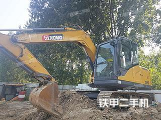 河南-郑州市二手徐工XE75DA挖掘机实拍照片