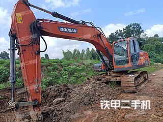 安徽-六安市二手斗山DX215-9C挖掘机实拍照片