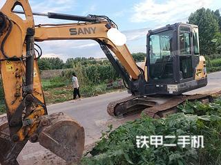 許昌三一重工SY60C挖掘機實拍圖片