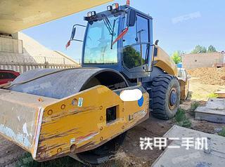 宁夏-吴忠市二手柳工CLG6622E(单驱)压路机实拍照片