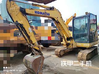 广西-南宁市二手小松PC56-7挖掘机实拍照片