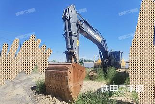 烏海沃爾沃EC480DL挖掘機實拍圖片