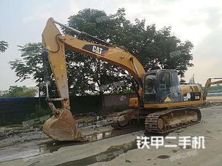 南京卡特彼勒323D液壓挖掘機實拍圖片