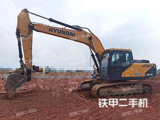 二手现代 R215VS 挖掘机转让出售