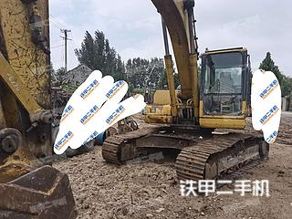 泰安小松PC220-7挖掘機實拍圖片