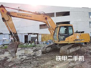 二手现代 R210-5 挖掘机转让出售