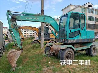 徐州新源XY65W-8挖掘機實拍圖片