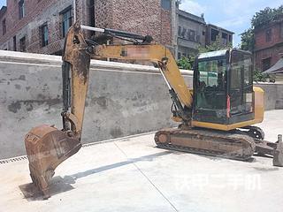 湖南-衡阳市二手卡特彼勒306E2小型液压挖掘机实拍照片