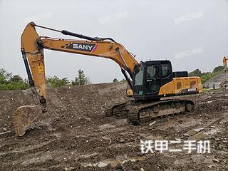 三一重工SY205C挖掘機實拍圖片