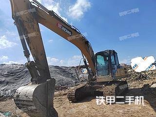 河南-漯河市二手徐工XE215DA挖掘机实拍照片