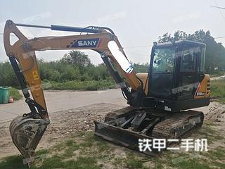 江苏-盐城市二手三一重工SY60C挖掘机实拍照片