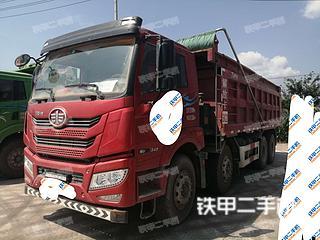 宜昌一汽解放8X4工程自卸車實拍圖片