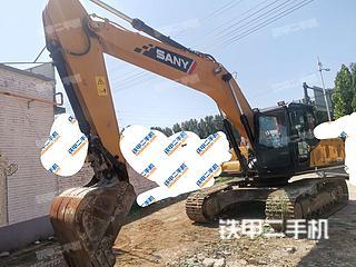 河北-保定市二手三一重工SY215C-10挖掘机实拍照片