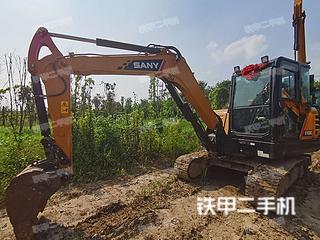 南京三一重工SY55C挖掘機實拍圖片