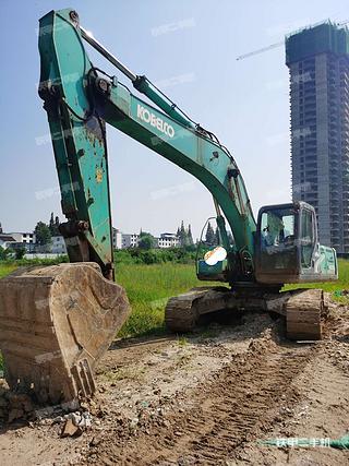 陕西-汉中市二手神钢SK260LC-8挖掘机实拍照片