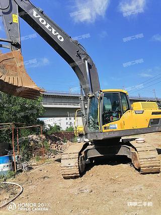 太原沃爾沃EC350DL挖掘機實拍圖片