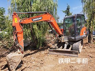 陕西-安康市二手斗山DX55-9C挖掘机实拍照片