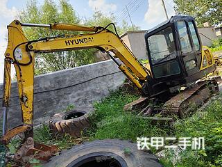 山东-济宁市二手现代R55-7挖掘机实拍照片