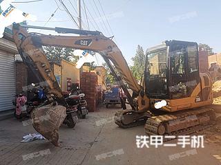 河北-石家庄市二手卡特彼勒306小型液压挖掘机实拍照片
