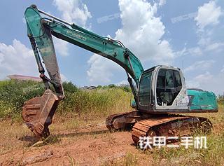 南昌神鋼SK200-6E挖掘機實拍圖片