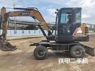 南京三一重工SY65W挖掘機實拍圖片