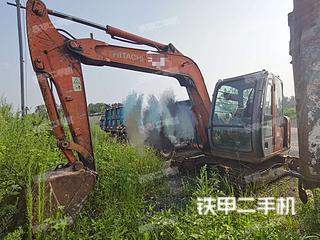 河南-驻马店市二手日立ZX60挖掘机实拍照片