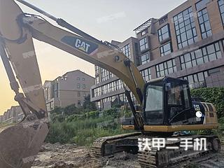 卡特彼勒323D2L挖掘機實拍圖片