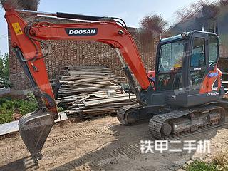 斗山DX55-9CN挖掘機實拍圖片