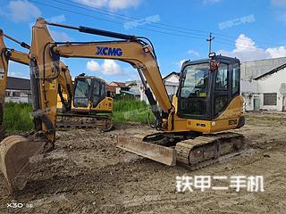 浙江-嘉兴市二手徐工XE60D挖掘机实拍照片