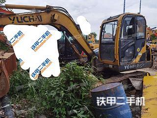 玉柴YC60-8挖掘機實拍圖片