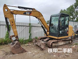 廣州卡特彼勒306E2小型液壓挖掘機實拍圖片