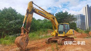 南昌小松PC200-7挖掘機實拍圖片