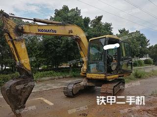 湖南-衡阳市二手小松PC60-7挖掘机实拍照片