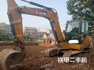 周口徐工XE60DA挖掘機實拍圖片