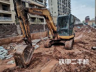 江西-赣州市二手小松PC56-7挖掘机实拍照片