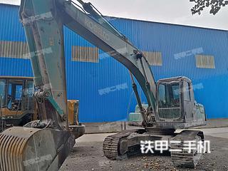 周口神鋼SK210LC-8挖掘機實拍圖片