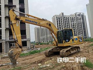 安徽-阜阳市二手小松PC200-8N1挖掘机实拍照片