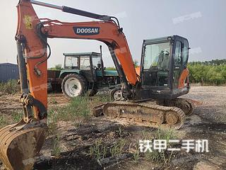 山东-东营市二手斗山DX55-9C挖掘机实拍照片