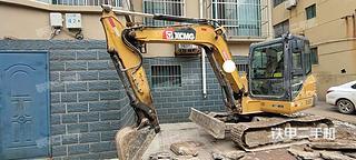 山东-德州市二手徐工XE60D挖掘机实拍照片