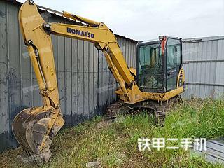 安徽-阜阳市二手小松PC56-7挖掘机实拍照片