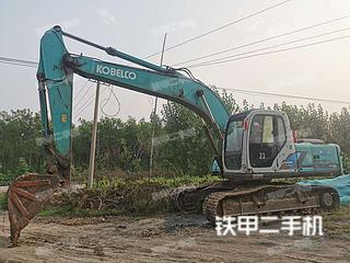 日照神鋼SK200-6E挖掘機實拍圖片
