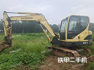 河北-秦皇岛市二手现代R60-9挖掘机实拍照片