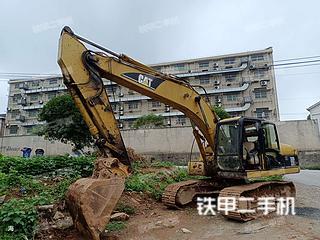 湖南-长沙市二手卡特彼勒320C挖掘机实拍照片