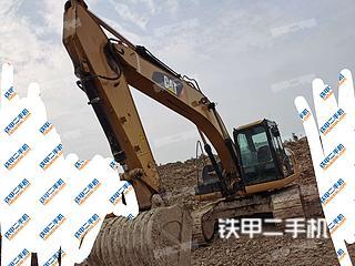 徐州卡特彼勒323D2L挖掘機實拍圖片