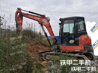贵州-黔南布依族苗族自治州二手久保田KX165-5挖掘机实拍照片