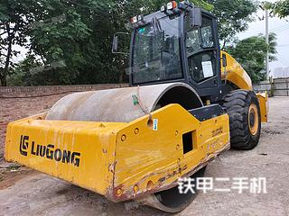 陕西-西安市二手柳工CLG6622E(单驱)压路机实拍照片