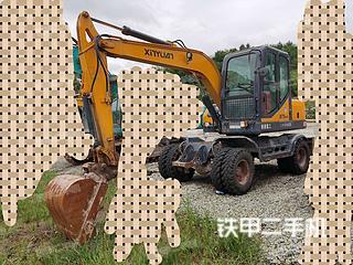 徐州新源XYB75W-8挖掘機實拍圖片