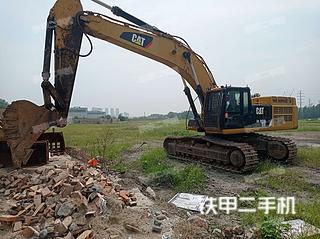 徐州卡特彼勒349D2液壓挖掘機實拍圖片