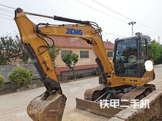 山东-青岛市二手徐工XE60D挖掘机实拍照片