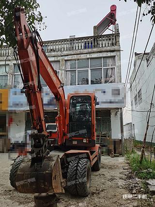 徐州新源XY75W-9挖掘機實拍圖片